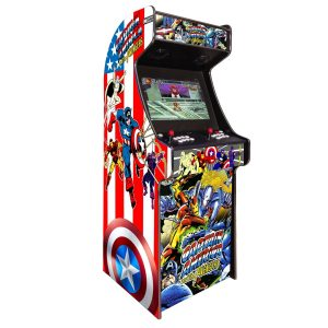 arcade machine borne born jeux cafe anciens retro recalbox neuve moderne hdmi pas cher vente achat prix france belgique captainamerica 300x300 - Borne Arcade Captain America