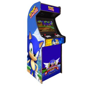 arcade machine borne born jeux cafe anciens retro recalbox neuve moderne hdmi pas cher vente achat prix france belgique sonic 300x300 - Borne Arcade Sonic