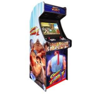 arcade machine borne born jeux cafe anciens retro recalbox neuve moderne hdmi pas cher vente achat prix france belgique streetfighter 300x300 - Borne Arcade Street Fighter II